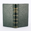 Sterne, Voyage Sentimental. Full long-grain goat leather. 7,5 x 13,5 cm (3 x 5 1/4